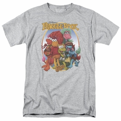 Fraggle Rock t-shirt Group Hug mens athletic heather