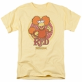 Fraggle Rock t-shirt Red Circle mens banana