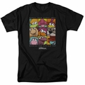 Fraggle Rock t-shirt Squared mens black