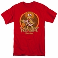 Fraggle Rock t-shirt Wembley Circle mens red