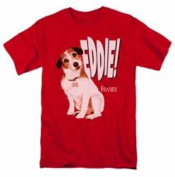 Frasier t-shirt Eddie mens red