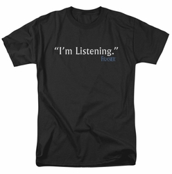 Frasier t-shirt I'm Listening mens black