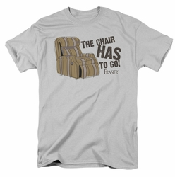 Frasier t-shirt The Chair mens silver
