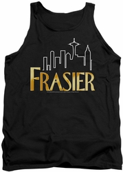 Frasier tank top Frasier Logo mens black