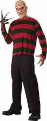 Freddy Adult EVA Mask and Shirt