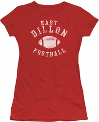 Friday Night Lights juniors t-shirt East Dillon Football red