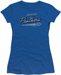 Friday Night Lights juniors t-shirt Panthers 78 royal blue