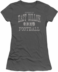 Friday Night Lights juniors t-shirt Property Of charcoal