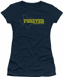 Friday Night Lights juniors t-shirt Texas Forever navy