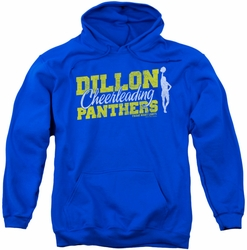 Friday Night Lights pull-over hoodie Cheer Squad adult royal blue