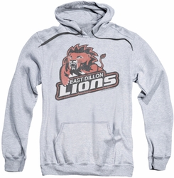 Friday Night Lights pull-over hoodie East Dillion Lions adult athletic heather