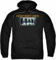 Friday Night Lights pull-over hoodie Game Time adult black