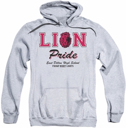 Friday Night Lights pull-over hoodie Lions Pride adult athletic heather
