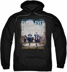Friday Night Lights pull-over hoodie Motivated adult black