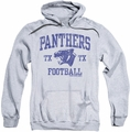 Friday Night Lights pull-over hoodie Panther Arch adult athletic heather