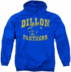 Friday Night Lights pull-over hoodie Panthers adult royal blue