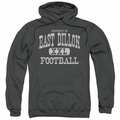 Friday Night Lights pull-over hoodie Property Of adult charcoal