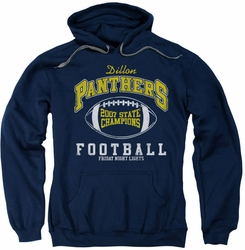 Friday Night Lights pull-over hoodie State Champs adult navy