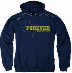 Friday Night Lights pull-over hoodie Texas Forever adult navy
