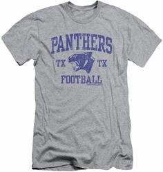 Friday Night Lights slim-fit t-shirt Panther Arch mens heather