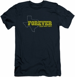 Friday Night Lights slim-fit t-shirt Texas Forever mens navy