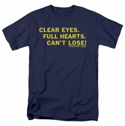 Friday Night Lights t-shirt Clear Eyes mens navy