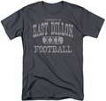 Friday Night Lights t-shirt Property Of mens charcoal