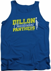 Friday Night Lights tank top Cheer Squad mens royal
