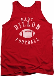 Friday Night Lights tank top East Dillon Football mens red