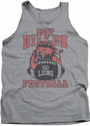 Friday Night Lights tank top Go Lions mens athletic heather