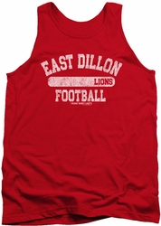 Friday Night Lights tank top Lions Pill Box mens red