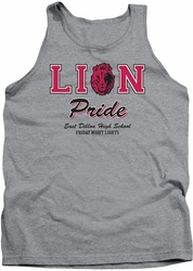 Friday Night Lights tank top Lions Pride mens heather