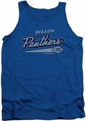 Friday Night Lights tank top Panthers 78 mens royal blue