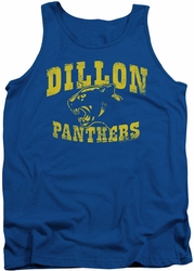 Friday Night Lights tank top Panthers mens royal