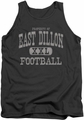 Friday Night Lights tank top Property Of mens charcoal