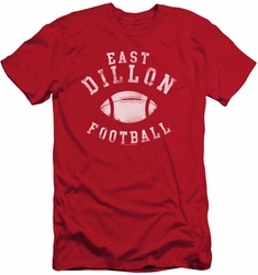 Friday Night Lts slim-fit t-shirt East Dillon Football mens red
