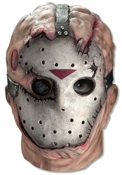 Friday the 13th Jason Voorhees deluxe overhead latex mask