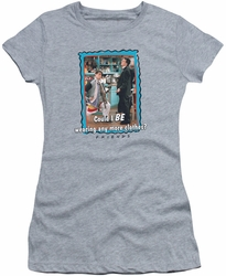 Friends juniors t-shirt Any More Clothes athletic heather