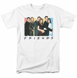 Friends t-shirt Cast Logo mens white