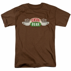 Friends t-shirt Central Perk Logo mens coffee