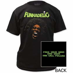 Funkadelic Free Your Mind Adult t-shirt