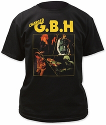 G.B.H. catch 23 adult tee mens black pre-order