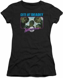 Galaxy Quest juniors t-shirt Cute But Deadly black