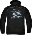 Galaxy Quest pull-over hoodie Never Surrender adult black