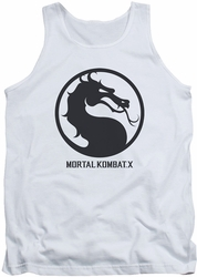 Game Mortal Kombat X tank top Seal mens white