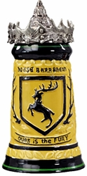 Game Of Thrones House Baratheon Stein