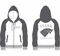 Game of Thrones hoodie Stark Winter Is Coming mens grey and white pre-order