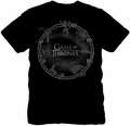 Game of Thrones lightweight t-shirt House Sigils mens black