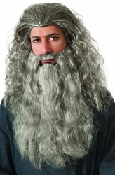 Gandalf beard kit costume accessory