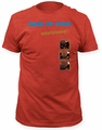 Gang of Four entertainment! adult tee mens vintage red pre-order